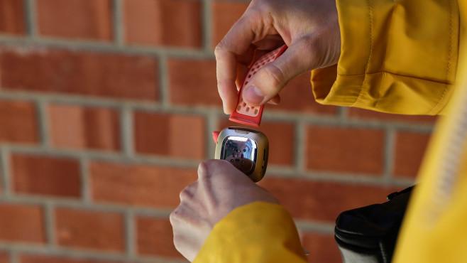 Fitbit Sense Wechselbänder©COMPUTER BILD