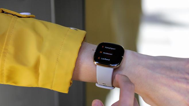 Fitbit Versa Trainingsmodi©COMPUTER BILD