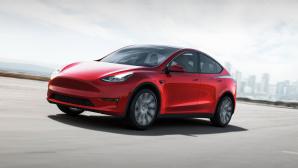 Tesla-Aktie vor dem Split: Lohnt sich jetzt noch der Einstieg? Der Einstiegspreis des Tesla Model 3 liegt bei rund 43.000 Euro, das Model Y gibt es ab rund 59.000 Euro.©Tesla