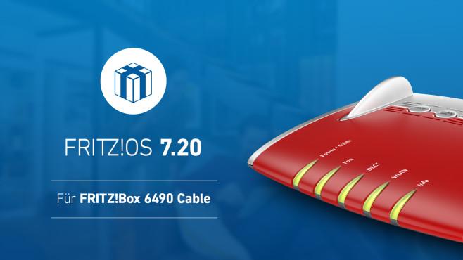 FritzOS 7.20 für FritzBox 6490 Cable©AVM