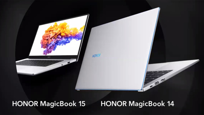 Honor MagicBook 14 und 15 © Honor