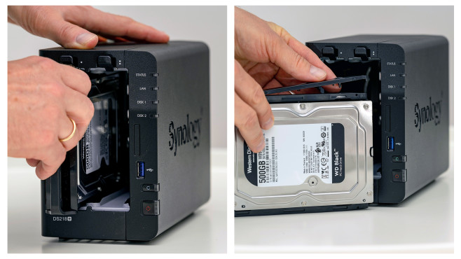Festplatten einbauen©COMPUTER BILD