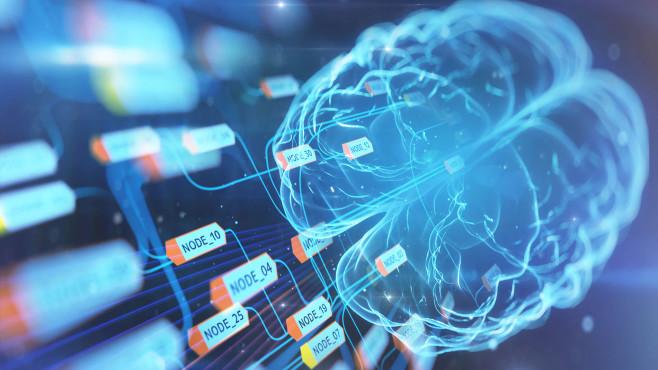 Gehirn und Computer©gettyimages.de / Yuichiro Chino