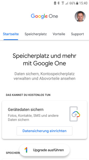 Google One (Android-App)