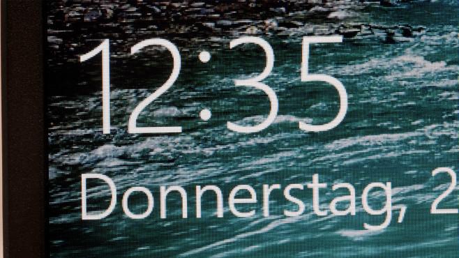 Detail-Aufnahme des BIldschirms des Asus Vivobook 14©COMPUTER BILD