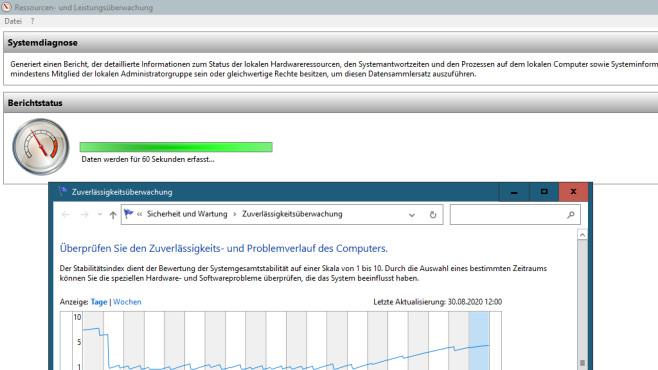 Windows 7/8/10: Was ist ein Parameter am PC? Die besten Tipps für CMD & Co. perfmon bewertet Ihr System hinsichtlich seiner Performance und Stabilität.©COMPUTER BILD
