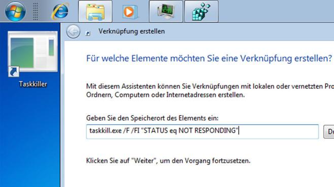 Windows 7/8/10: Was ist ein Parameter am PC? Die besten Tipps für CMD & Co. Den Task-Killer-Befehl verewigen Sie auf Wunsch in einer Verknüpfung.©COMPUTER BILD