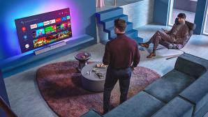 Der neue Philips OLED935 arbeitet mit Android TV als Betriebssystem.©Philips