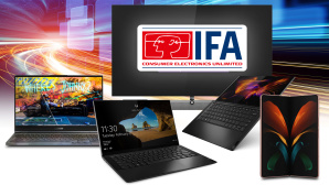IFA-Montage von COMPUTER BILD©IFA, iStock.com/nadla, Philips, Samsung, Lenovo