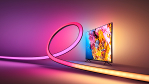 Werbebild des Philips Hue Play Gradient Lightstrip © Philips Hue, Signify