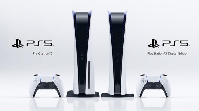 PlayStation 5 und 5 Digital Edition©Sony