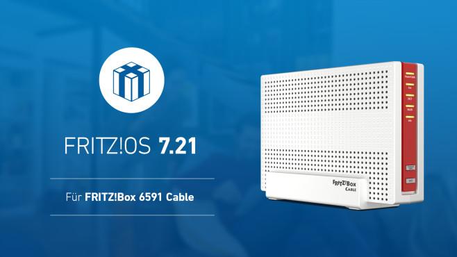 FritzOS 7.21 für FritzBox 6591 Cable©AVM