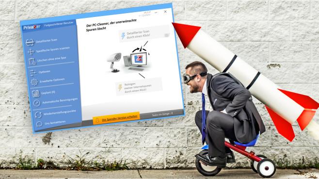 Windows reinigen: Speicher freigeben mit PrivaZer – Privasphäre verbessern Wie nutzen Sie den PrivaZer optimal? Unser Tutorial erläutert Ihnen erste Schritte.©iStock.com/CHBD
