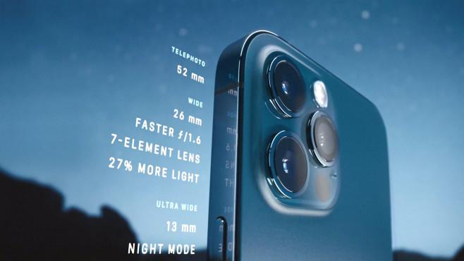 Kamera-Ausstattung iPhone 12 Pro©Apple