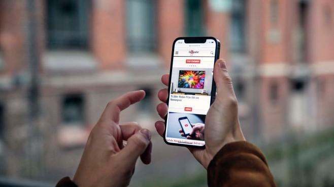 iPhone 12 mit 5G©COMPUTER BILD