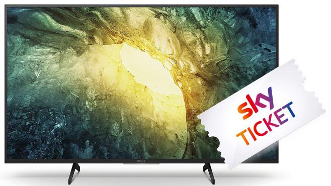 Sky Ticket für Sony Bravia Fernseher©Sony, Sky