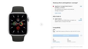 Apple Watch 5 ausverkauft©Screenshot: apple.com