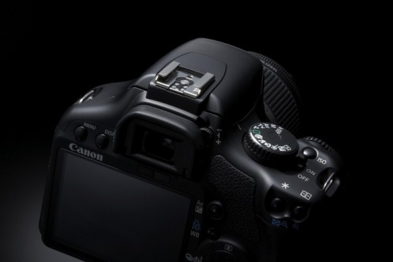 Canon EOS 450D: mit hellem Monitor