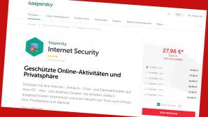 Internet Security von Kaspersky zum Vorteilspreis sichern©PR/Screenshot www.kaspersky-freiflug.de