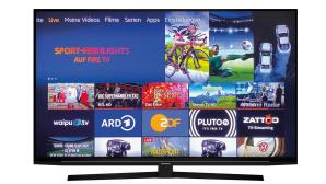 Der Grundig Vision 8 GUB8040 gefiel im Test mit seinen smarten Extras dank eingebautem Fire-TV.©Grundig