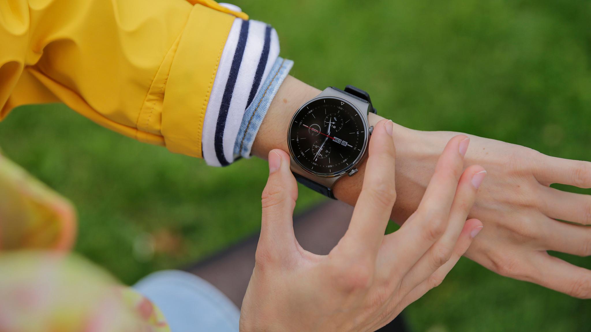 Huawei Watch GT 2 Pro©COMPTUER BILD