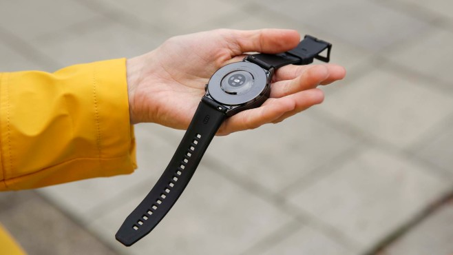 Huawei Watch GT 2 Pro Rückseite©COMPUTER BILD