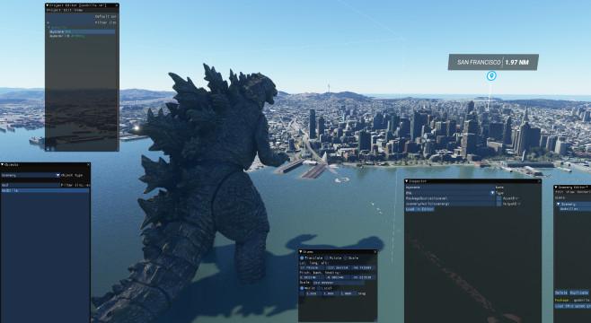 Godzilla Microsoft Flight Simulator©Nexus Mods