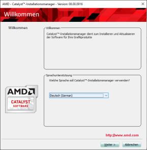 AMD Catalyst Software Suite (64 Bit)