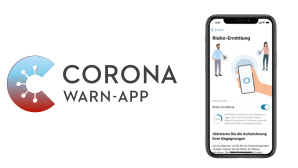 Corona-Warn-App auf iPhone©SAP