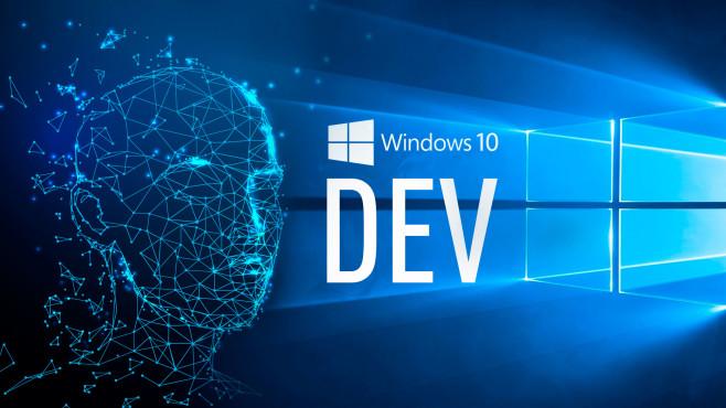 Windows 10 Dev Channel©iStock.com/Who_I_am