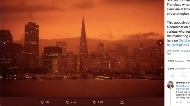San Francisco Feuer©twitter.com