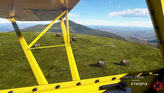 2020: Microsoft Flight Simulator©Microsoft