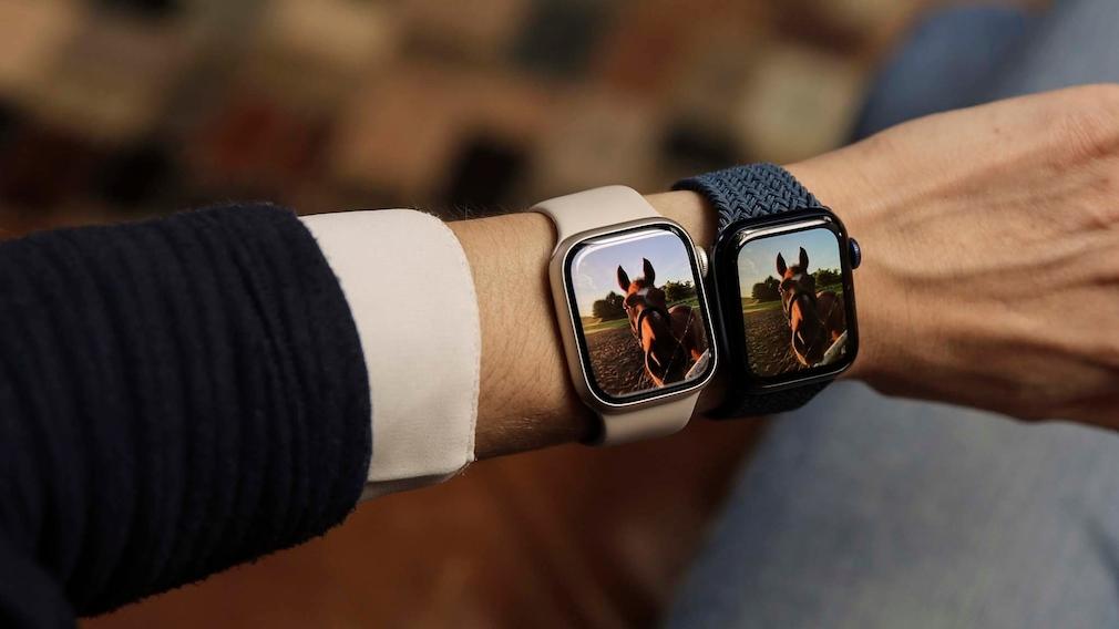 Apple Watch 7 und 6