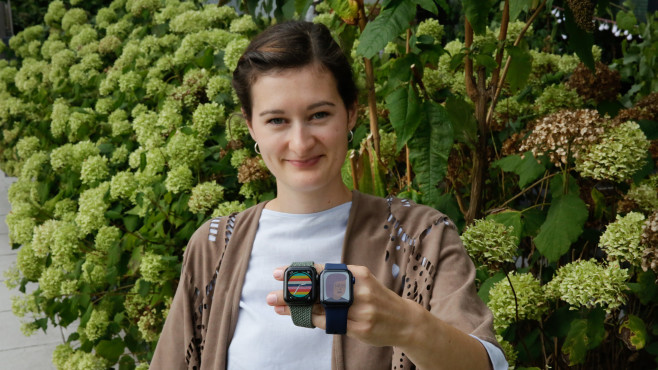 Apple Watch SE©COMPUTER BILD / Alena Zielinski