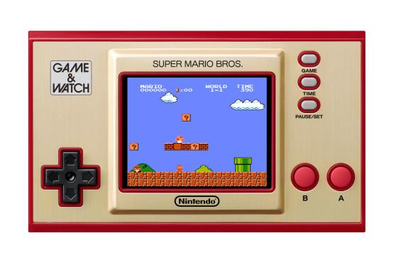 Super Mario Bros Game & Watch©Nintendo