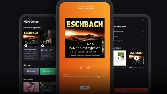Screenshot Audiobooks by Deezer © Deezer