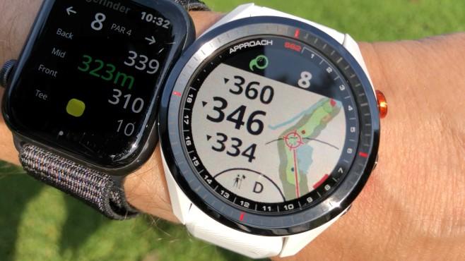 Apple Watch & Approach S622©COMPUTER BILD