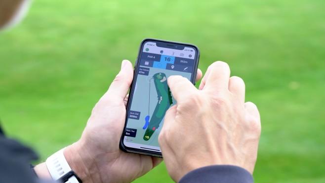 Golf-App Fore auf dem iPhone©COMPUTER BILD