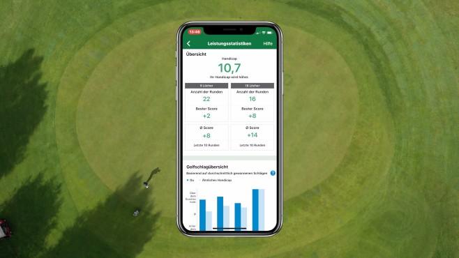 Golf-Statistiken von Garmin©COMPUTER BILD, Garmin