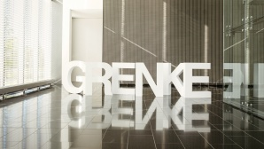 Schriftzug der Firma Grenke©Grenke