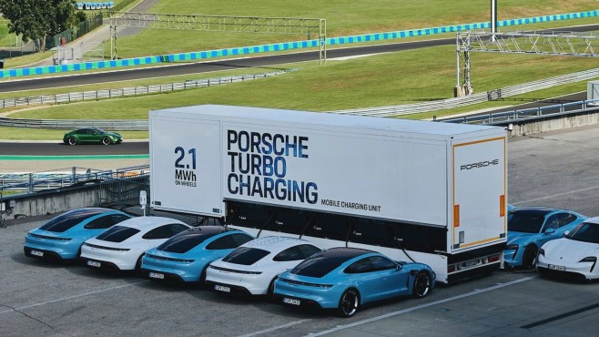 Porsche Turbo Charging©Porsche