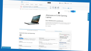 Dell Alienware m15R4 Gaming Laptop©Screenshot Hersteller