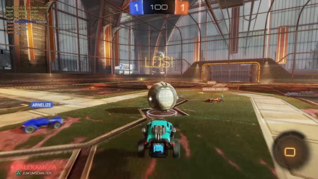 Rocket League: Künftig ist das Auto-Fußballspiel gratis