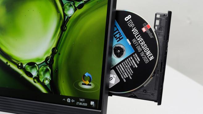 Lenovo Ideacentre AIO 3 DVD-Brenner©COMPUTER BILD