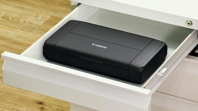 Canon Pixma TR150 passt in eine Schublade©Canon