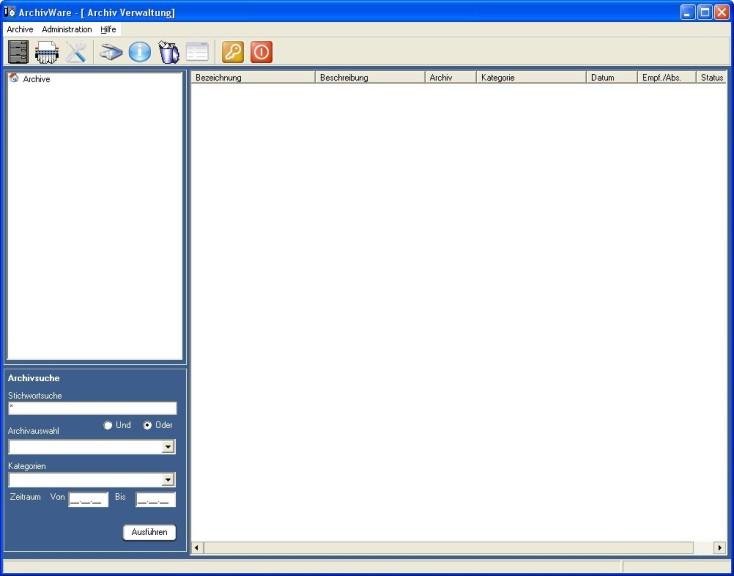 Screenshot 1 - ArchivWare