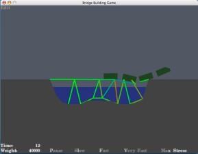 Bridge Building Game (Mac)