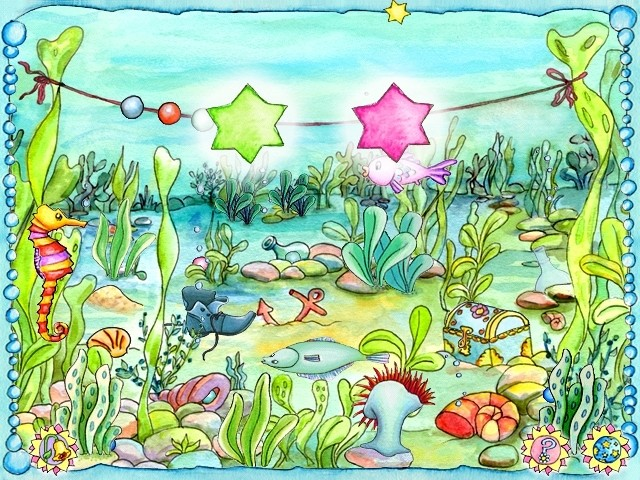 Screenshot 1 - Prinzessin Lillifee Perlensuchspiel