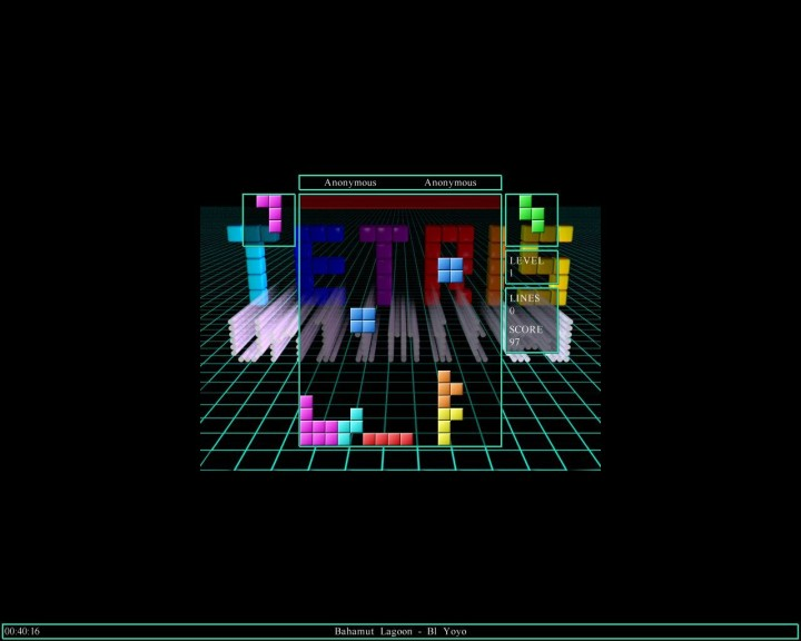 Screenshot 1 - Tetris Unlimited