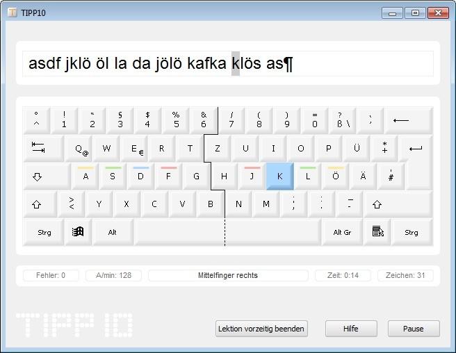 Screenshot 1 - TIPP10 Portable